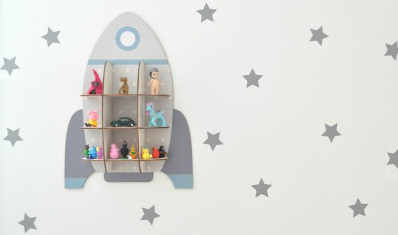 עיצוב חדר ילדים, מדבקות קיר כוכבים